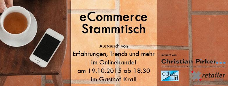 1. Kärntner eCommerce Stammtisch in Klagenfurt